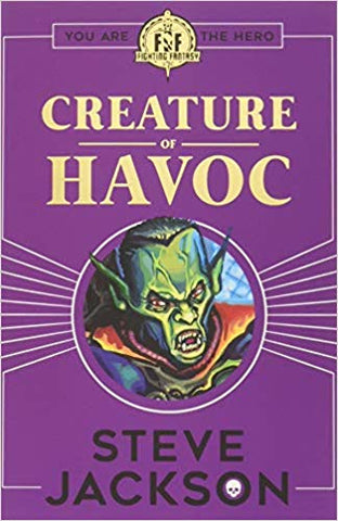 Fighting Fantasy: Creature of Havoc Paperback