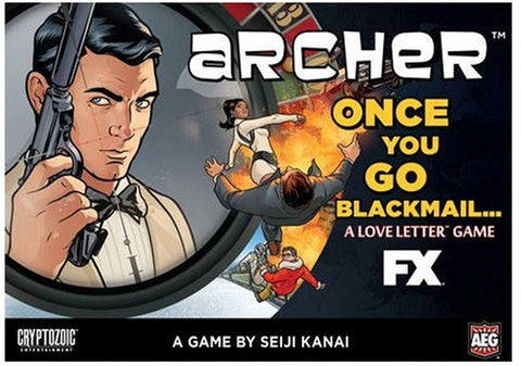 Archer, Once you go Blackmail... - Love Letter Boxed