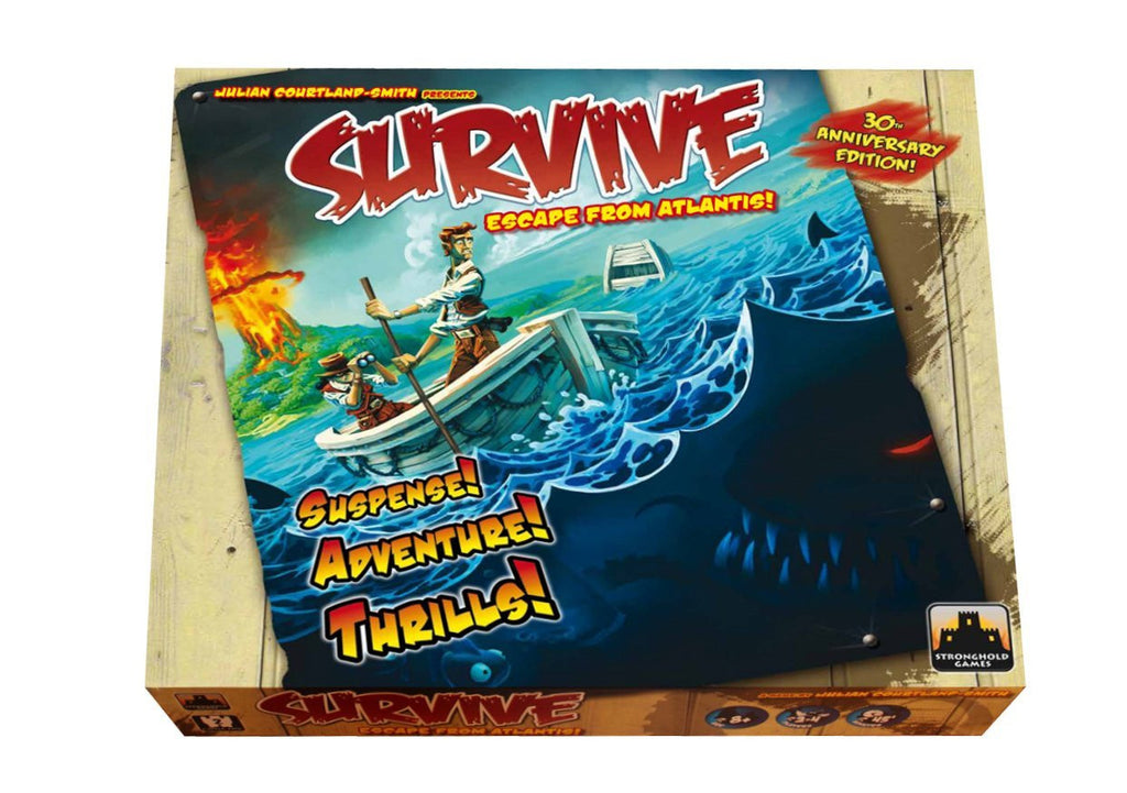 Survive Escape from Atlantis! 30th Anniversary Edition!