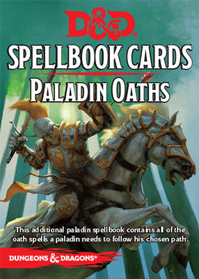 Dungeons & Dragons - Spellbook Cards: Paladin Oaths