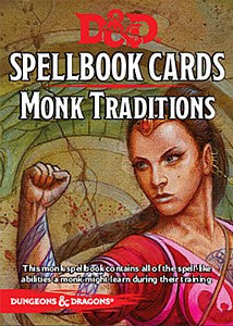 Dungeons & Dragons - Spellbook Cards: Monk Traditions
