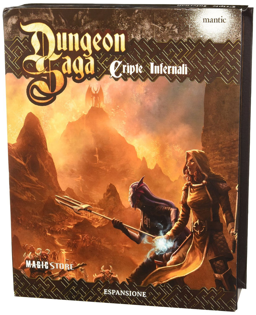 Dungeon Saga Exp: The Infernal Crypts