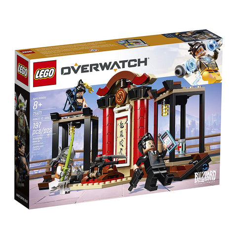 Overwatch: Hanzo vs. Genji Lego Set