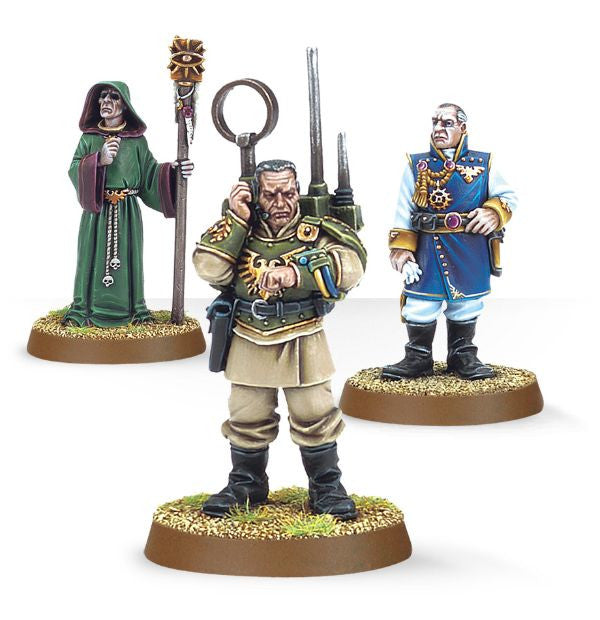 ASTRA MILITARUM REGIMENTAL ADVISORS