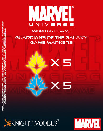 Marvel Miniature Game: Guardians Of The Galaxy Markers