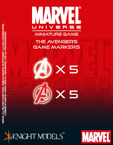 Marvel Miniature Game: Avengers Markers