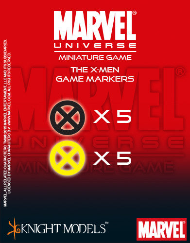 Marvel Miniature Game: X-Men Markers