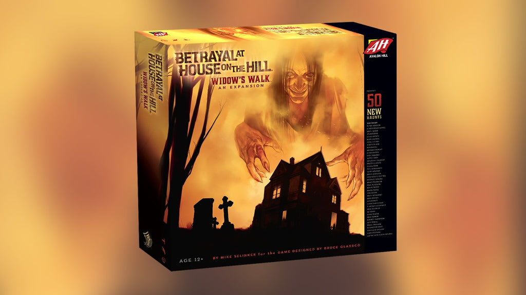 Widow's Walk: Betrayal at House on the Hill Expansion
