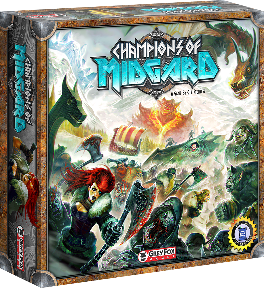 Play Test - Champions Of Midguard - 28th Jan 630PM