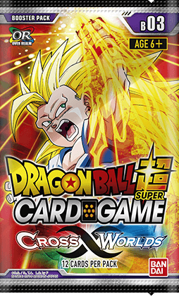 Dragonball Super Card Game: Crossing Worlds Booster Pack B03