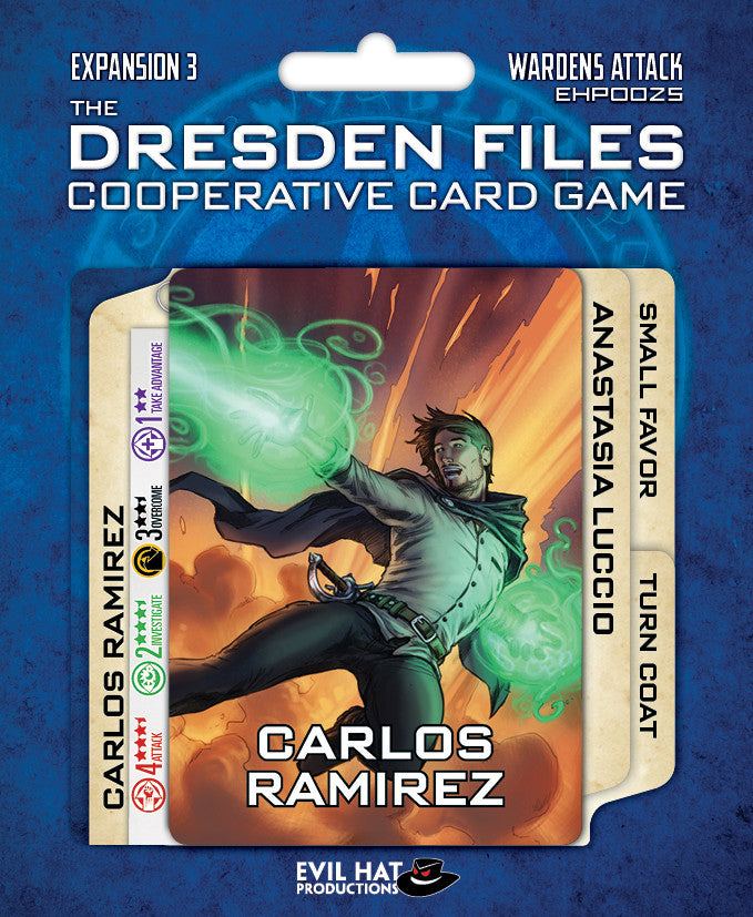 Dresden Files Cooperative Card Game - Wardens Attack Expansion