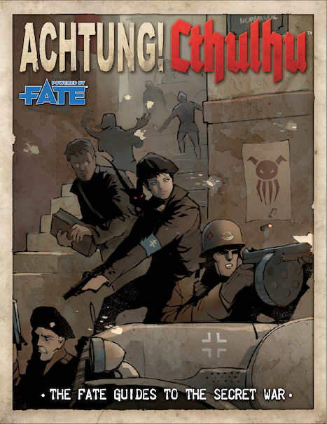 Achtung! Cthulhu Fate Guide to the Secret War