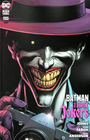 BATMAN THREE JOKERS #3 PREMIUM VARIANT G - CAMERA
