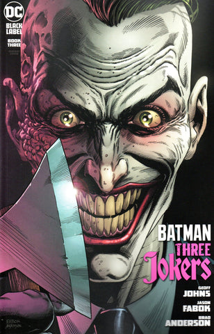 BATMAN THREE JOKERS #3 PREMIUM VARIANT I - AXE