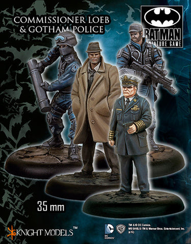 Batman Miniature Game: Commissioner Loeb and the Gotham Police