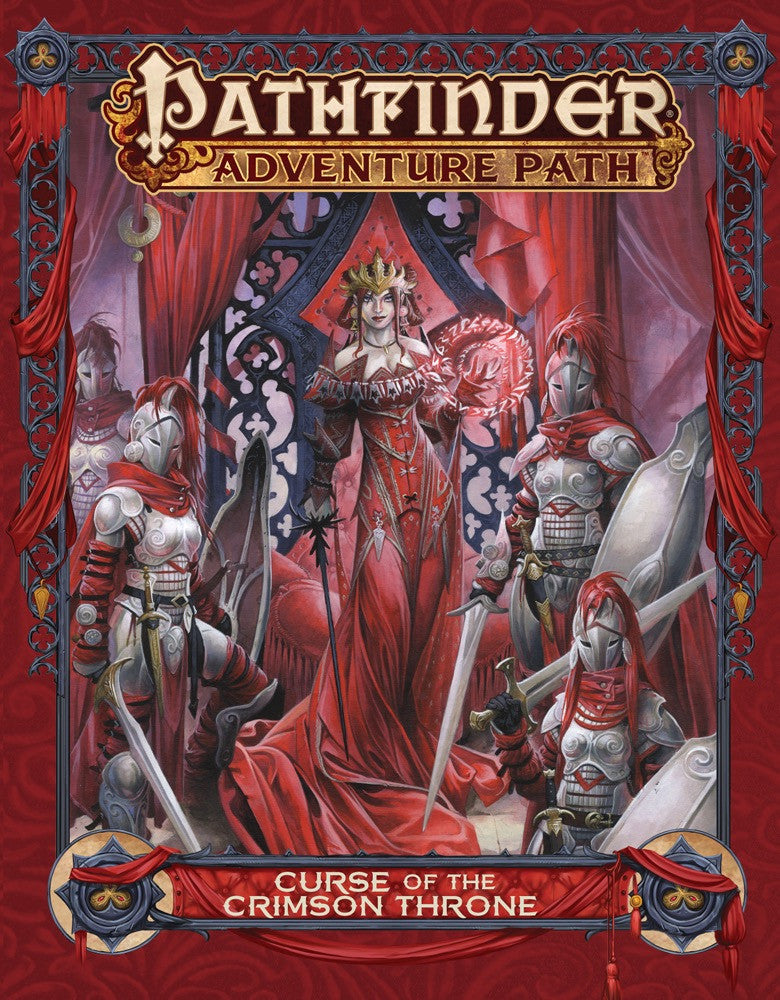 Pathfinder Adventure Path: Curse of the Crimson Throne