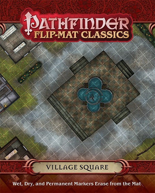 Pathfinder Flip-Mat: Village Square