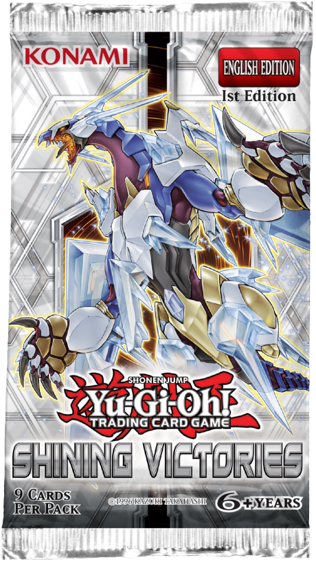 Yu-Gi-Oh! Shining Victories Booster