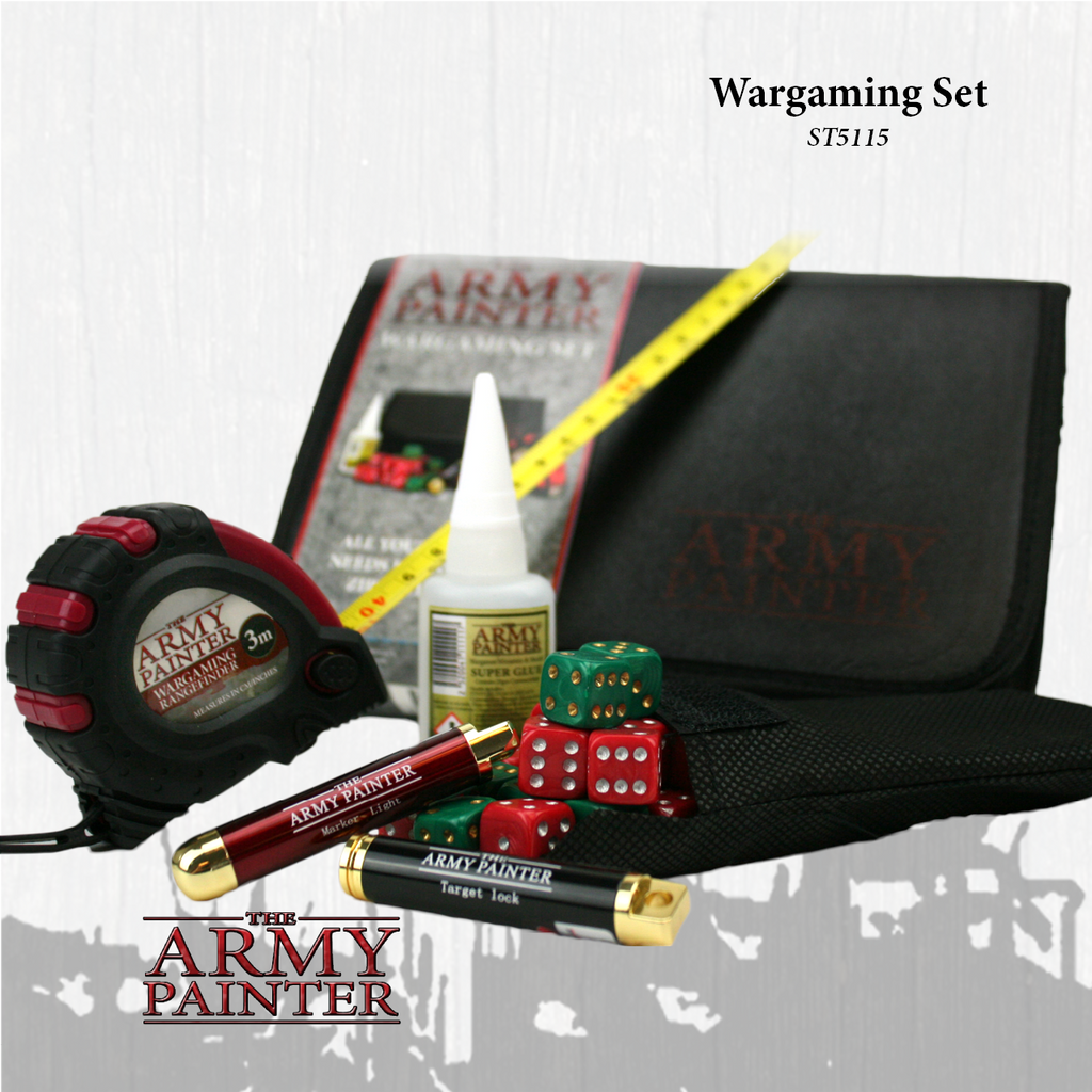 ARMY PAINTER: WARGAMING SET