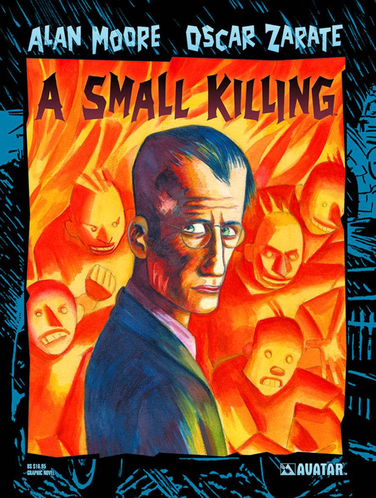 ALAN MOORE A SMALL KILLING TP (MR) COVER