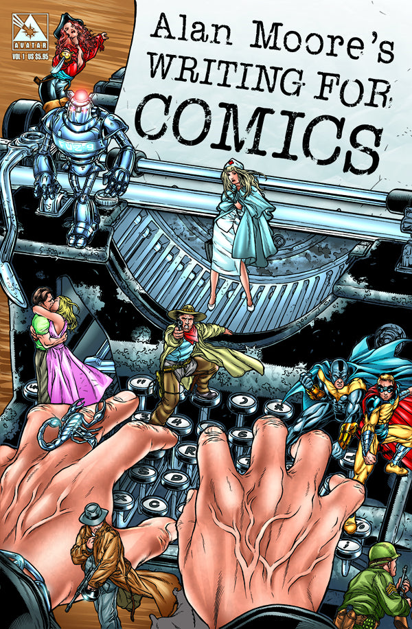 ALAN MOORE WRITING FOR COMICS GN COVER