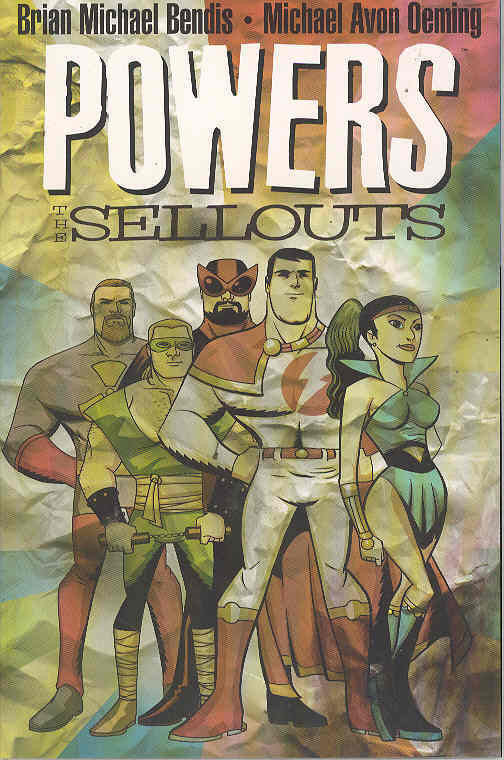 POWERS TP VOL 06 THE SELLOUTS COVER