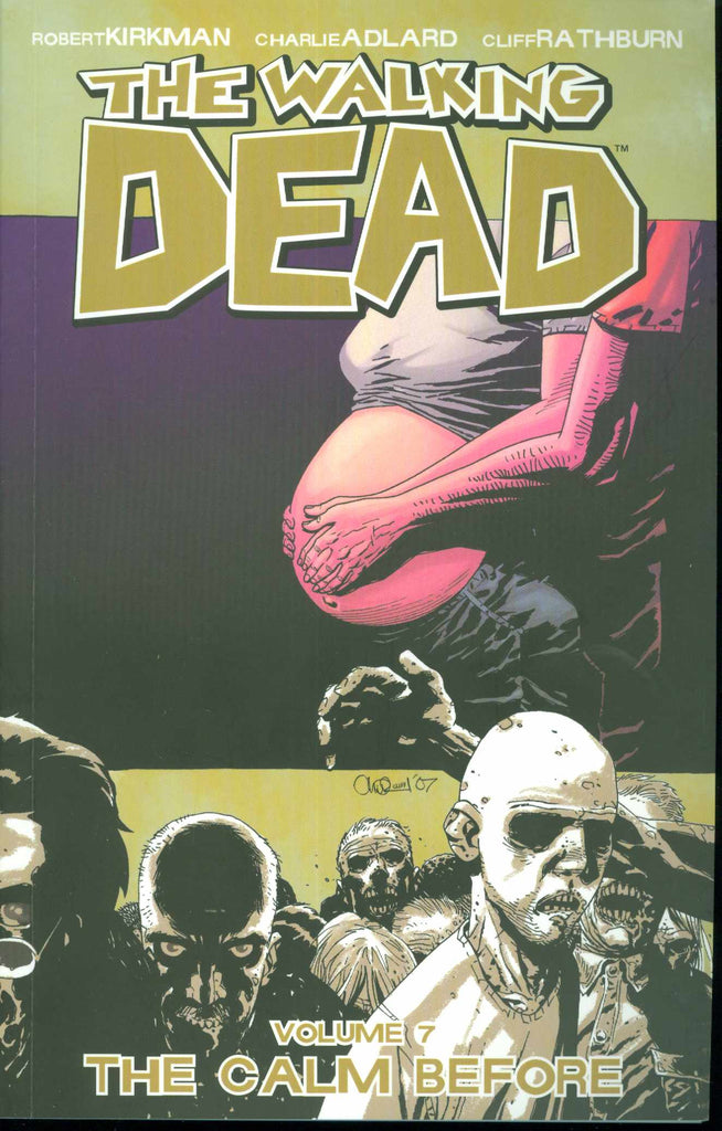WALKING DEAD TP VOL 07 THE CALM BEFORE COVER