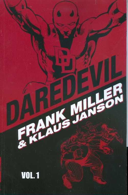 DAREDEVIL BY MILLER JANSON TPVOL 01 COVER