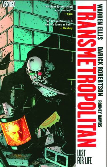 TRANSMETROPOLITAN TP VOL 02 LUST FOR LIFE NEW ED (MR) COVER