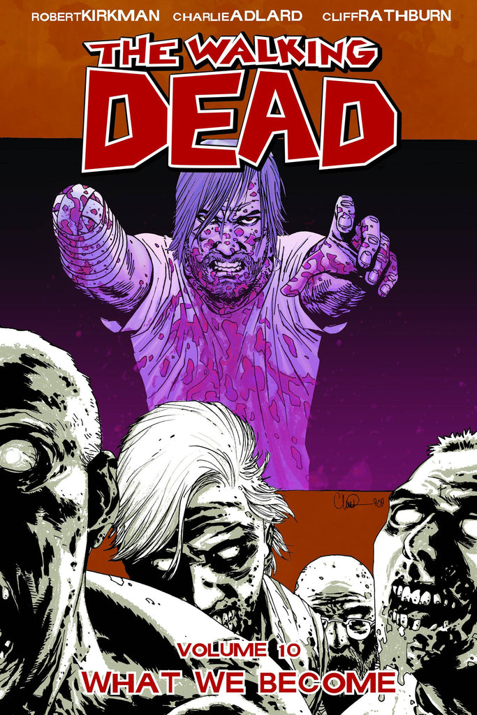 WALKING DEAD TP VOL 10 WHAT WE BECOME COVER