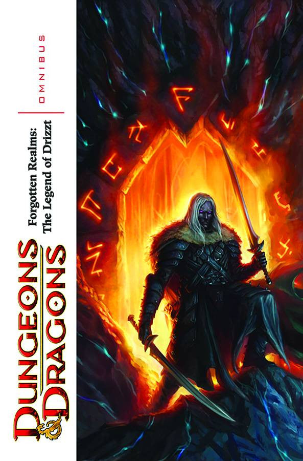DUNGEONS & DRAGONS FR DRIZZT OMNIBUS TP VOL 01 COVER