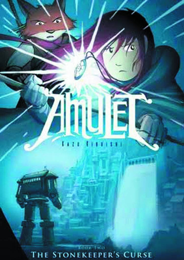 AMULET SC VOL 02 STONEKEEPERS CURSE COVER