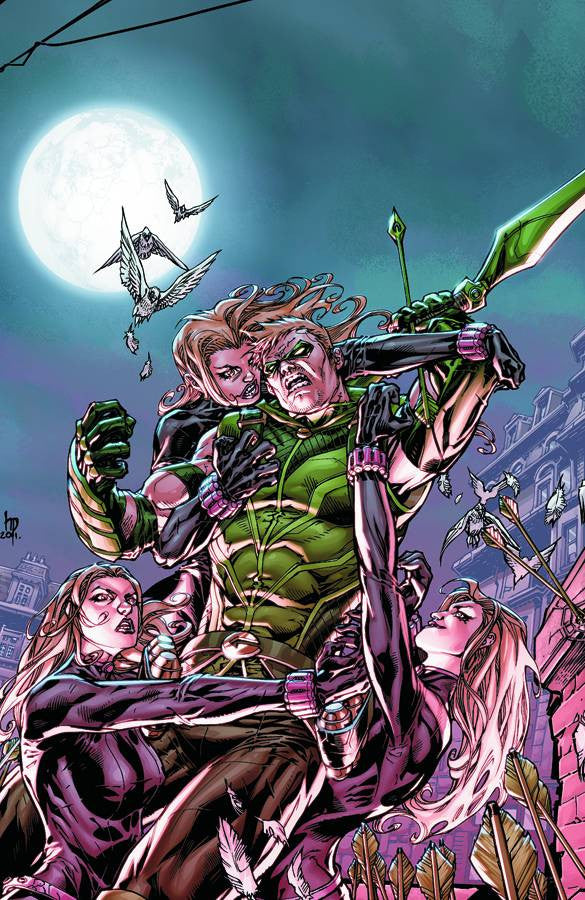 GREEN ARROW TP VOL 02 TRIPLE THREAT (N52) COVER
