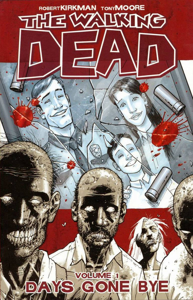 WALKING DEAD TP VOL 01 DAYS GONE BYE COVER