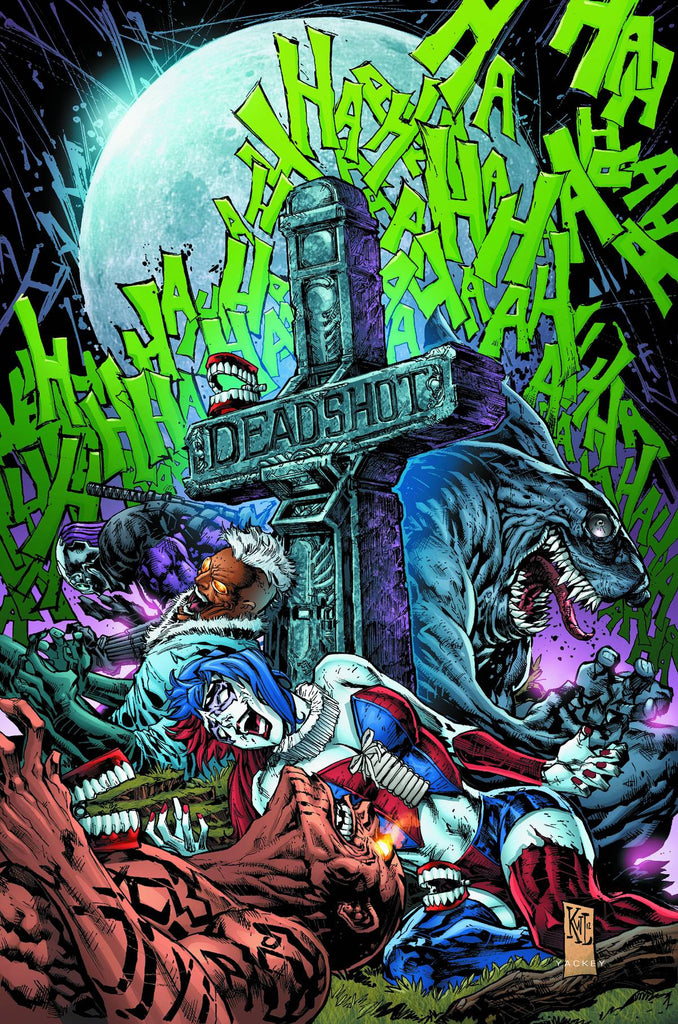 SUICIDE SQUAD TP VOL 03 DEATH IS FOR SUCKERS (N52) COVER