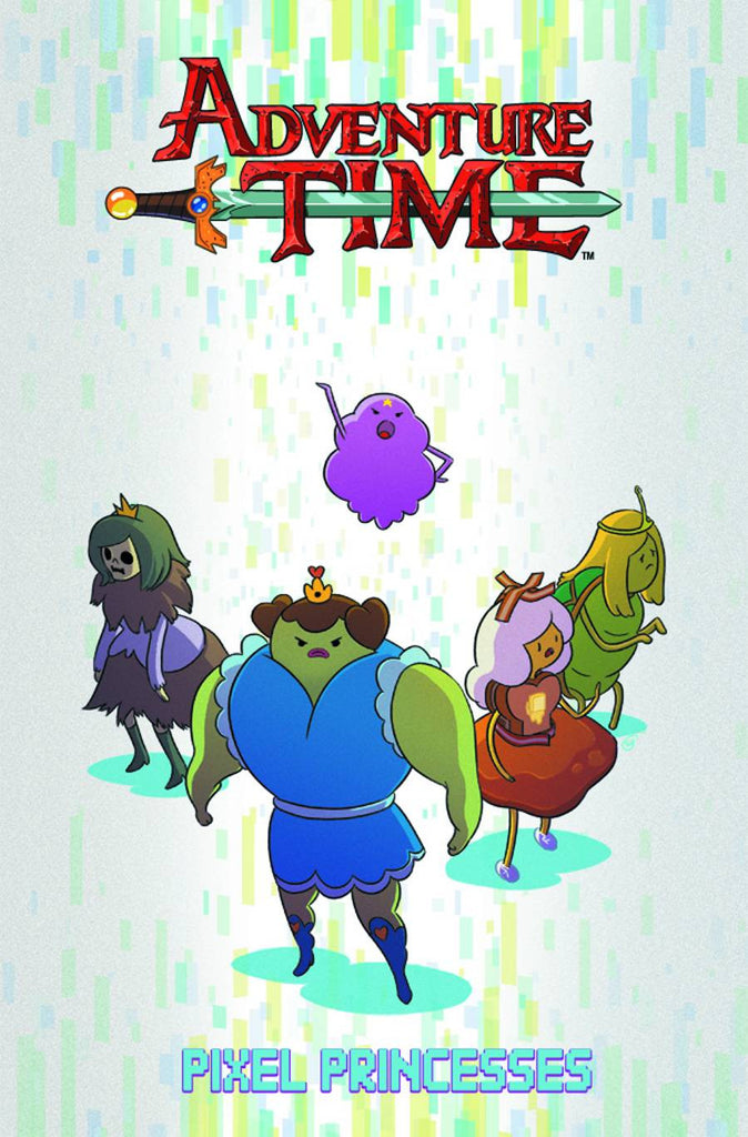 ADVENTURE TIME ORIGINAL GN VOL 02 PIXEL PRINCESSES COVER