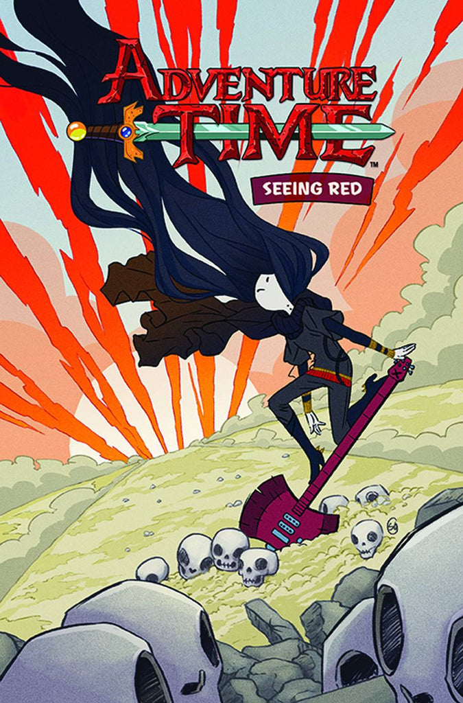ADVENTURE TIME ORIGINAL GN VOL 03 SEEING RED COVER