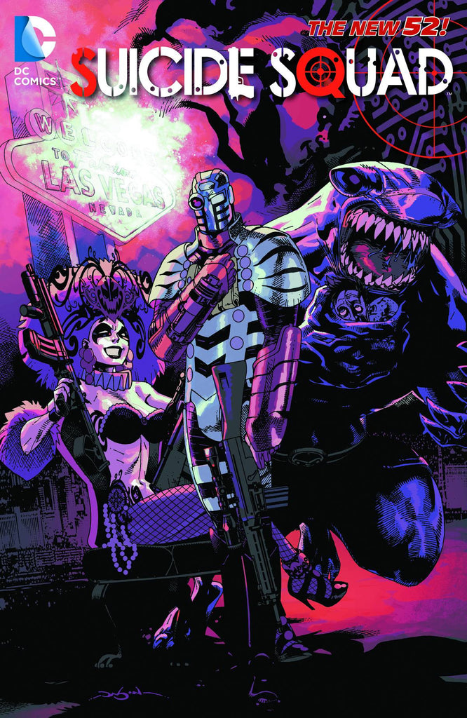 SUICIDE SQUAD TP VOL 04 DISCIPLINE AND PUNISH (N52) COVER