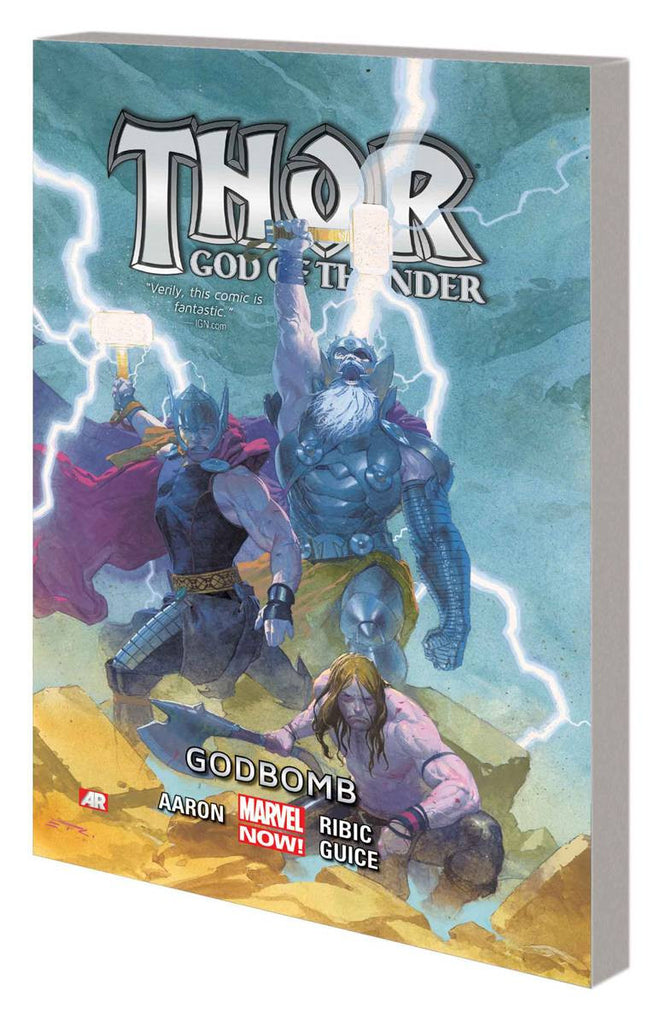 THOR GOD OF THUNDER TP VOL 02 GODBOMB COVER