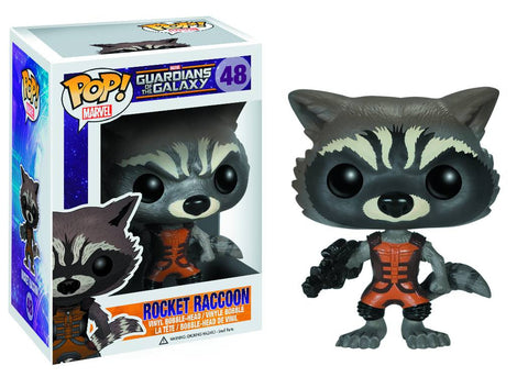 POP GOTG ROCKET RACCOON VINYLFIG COVER