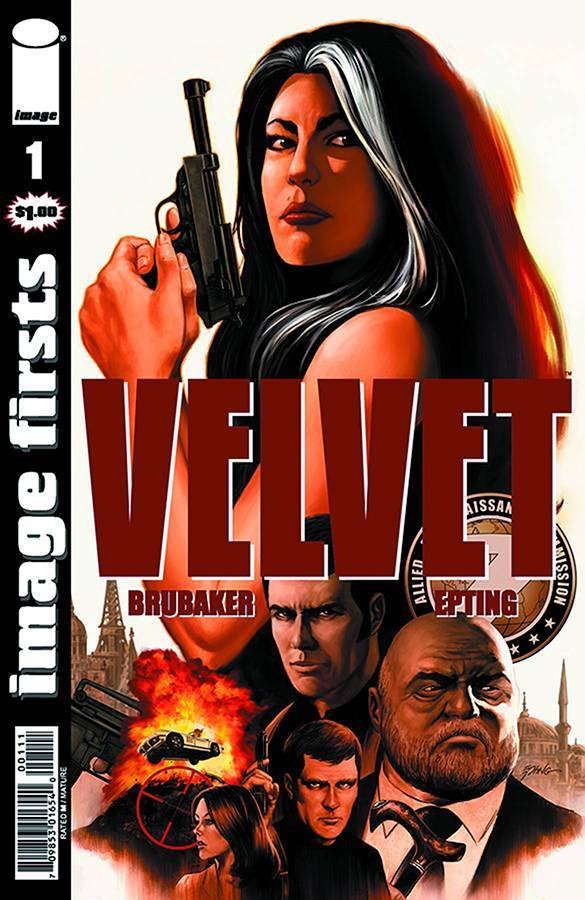 IMAGE FIRSTS VELVET #1 (MR) COVER