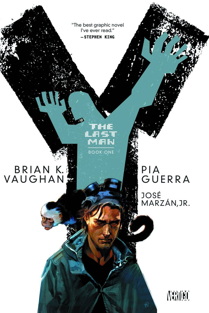 Y THE LAST MAN TP BOOK 01 (MR) COVER