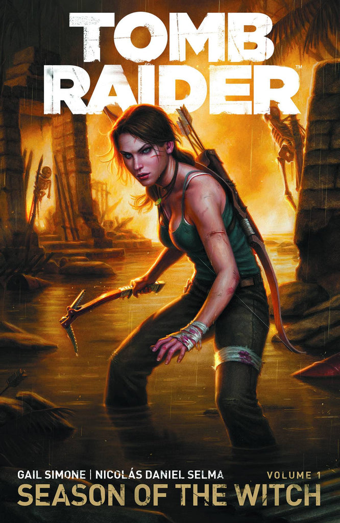 TOMB RAIDER TP VOL 01 SEASON OF WITCH COVER