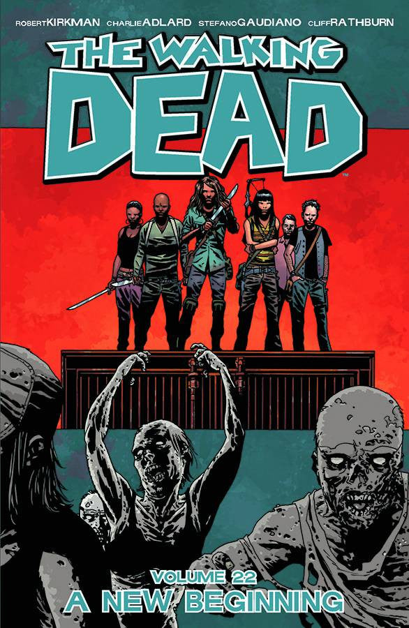 WALKING DEAD TP VOL 22 A NEW BEGINNING (MR) COVER