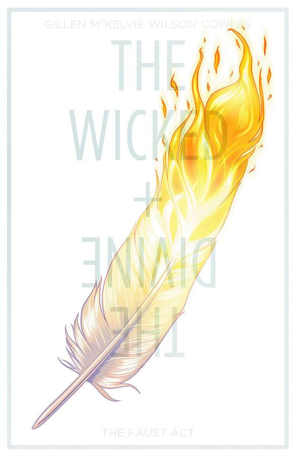 WICKED & DIVINE TP VOL 01 THEFAUST ACT (MR) COVER