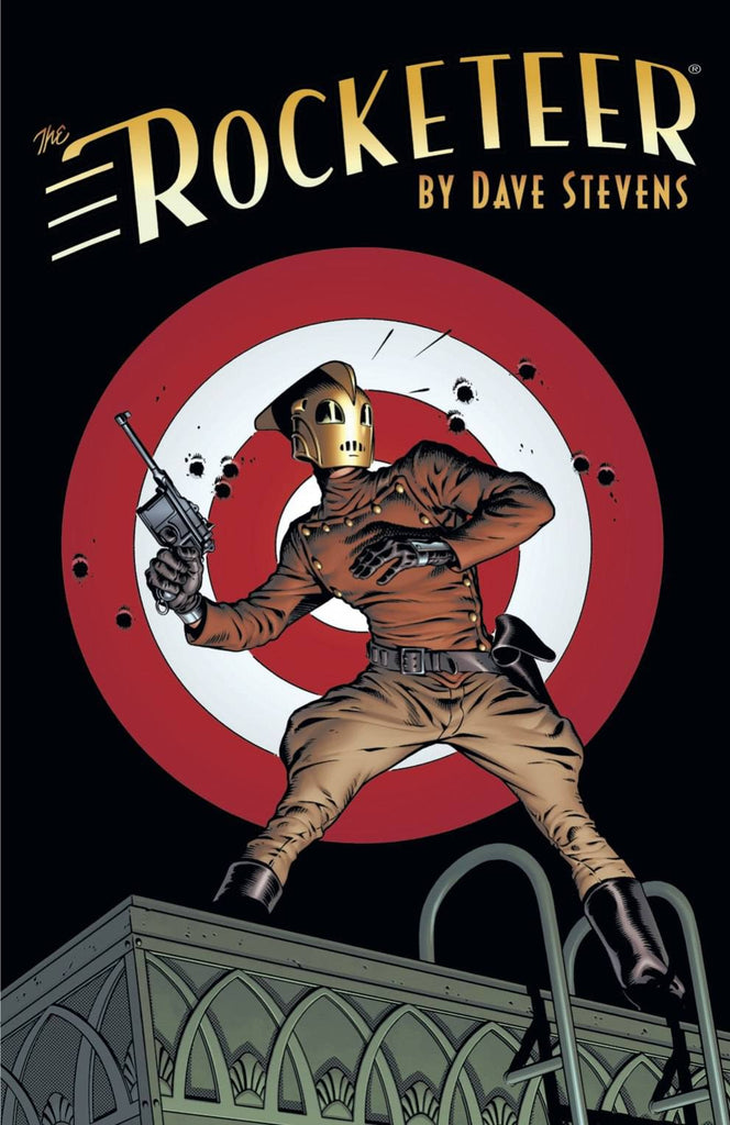 ROCKETEER THE COMPLETE ADVENTURES TP COVER