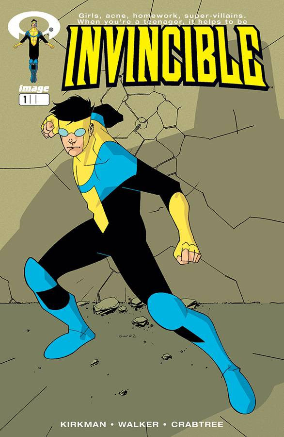 IMAGE FIRSTS INVINCIBLE #1 CURR PTG (O/A) COVER