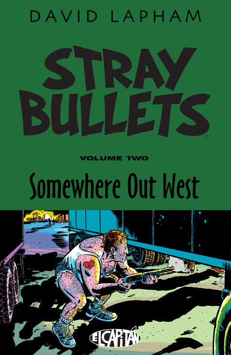 STRAY BULLETS TP VOL 02 SOMEWHERE OUT WEST (MR) COVER