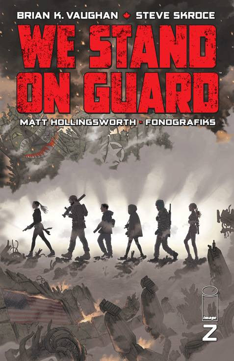 WE STAND ON GUARD #2 (MR) COVER