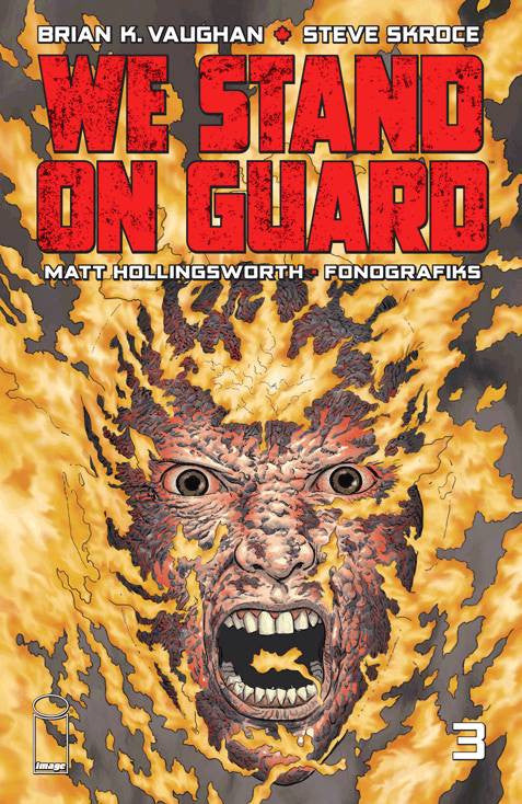 WE STAND ON GUARD #3 (OF 6) (O/A) (MR) COVER